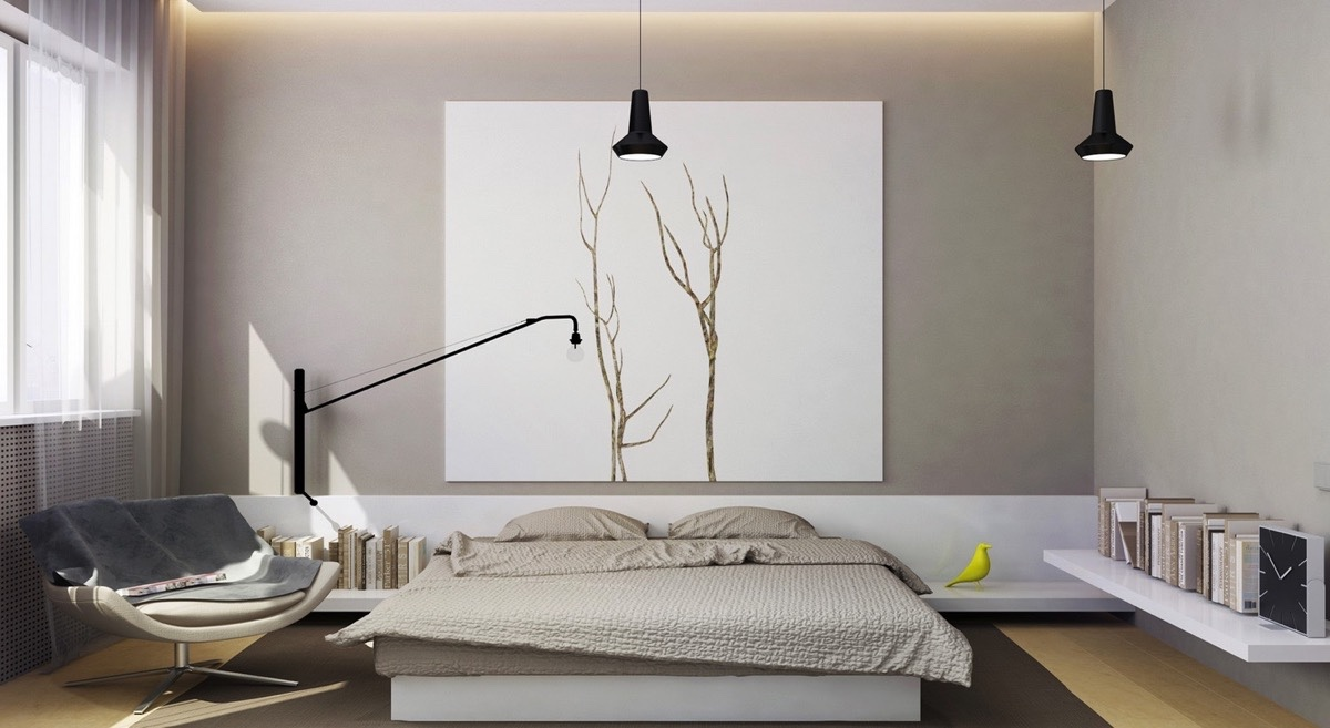 . 40 Serenely Minimalist Bedrooms To Help You Embrace Simple Comforts