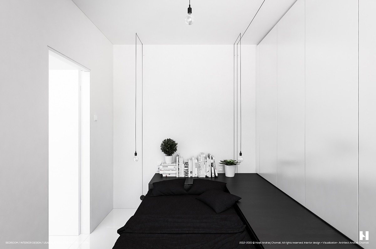 40 Serenely Minimalist Bedrooms To Help You Embrace Simple ... on Bedroom Design Minimalist  id=40674