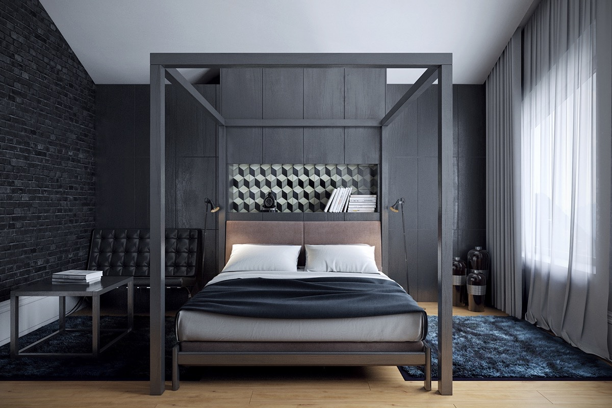32 fabulous 4 poster beds that make an awesome bedroom. Black Bedroom Furniture Sets. Home Design Ideas