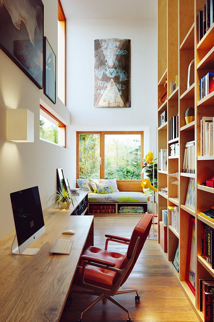Cool Home Library: 50 Best Reading Nooks We Have Ever Come Across