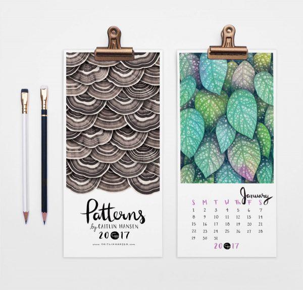 Home Design Editorial Calendar 2016: 36 Unique Desk & Wall Calendars To Help You Get Ready For