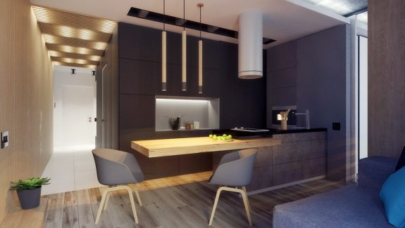 3 Studio Apartments Under 50sqm For City-Dwelling Couples (Including Floor Plans)
