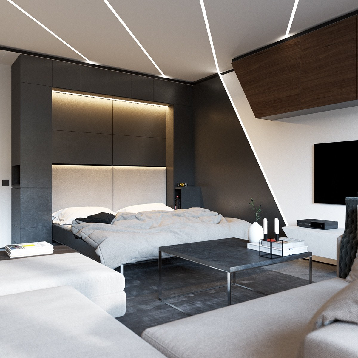 3 Open Layout Apartments That Use Clever Space Saving Techniques