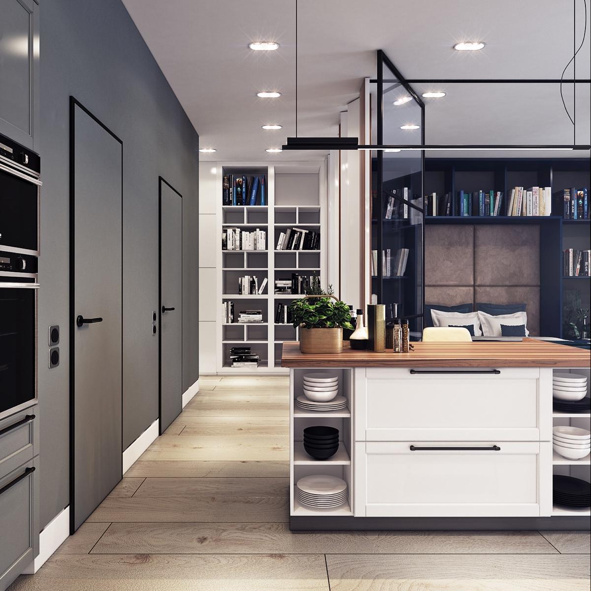 Beautiful Studio Apartment Designs Combined With Modern: 5 Beautiful Studio Apartments