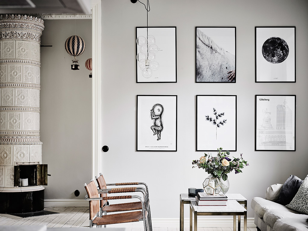 Wall Colour Inspiration: Grey And White Interior Design Inspiration From Scandinavia