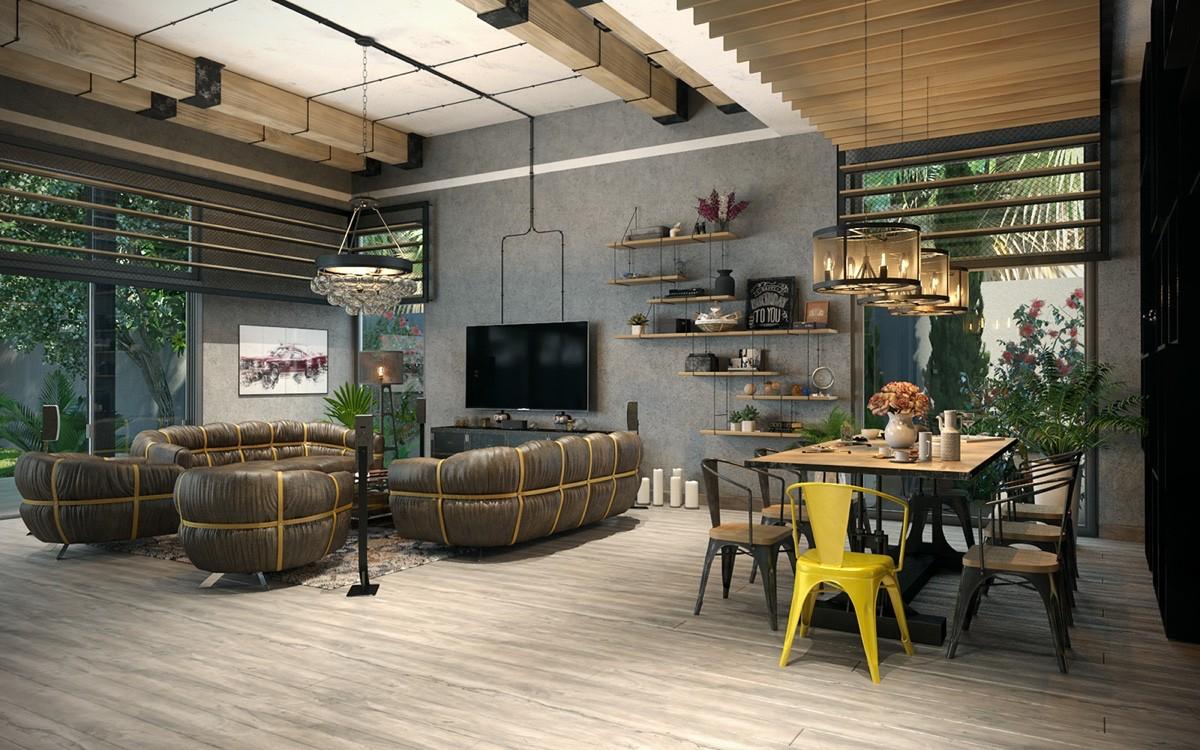 join the industrial loft revolution. Black Bedroom Furniture Sets. Home Design Ideas