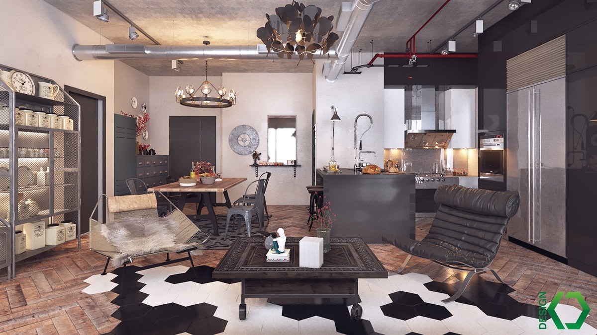 Join the industrial loft revolution for Planner arredamento