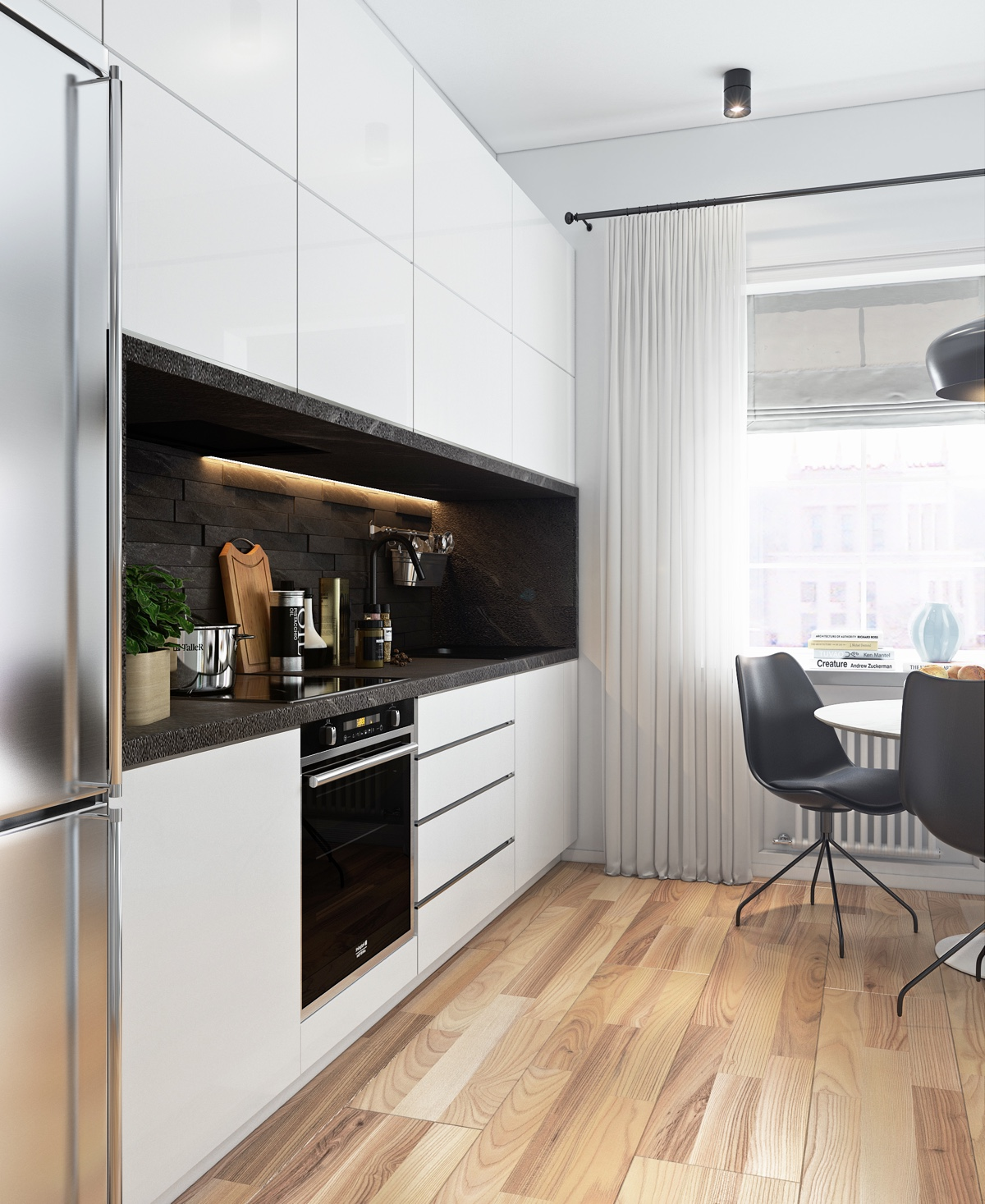 Compact Kitchen Units For Studio: 5 Beautiful Studio Apartments