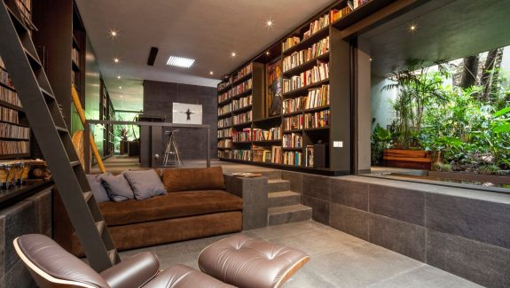 This gorgeous home is a nature loving bookworms paradise