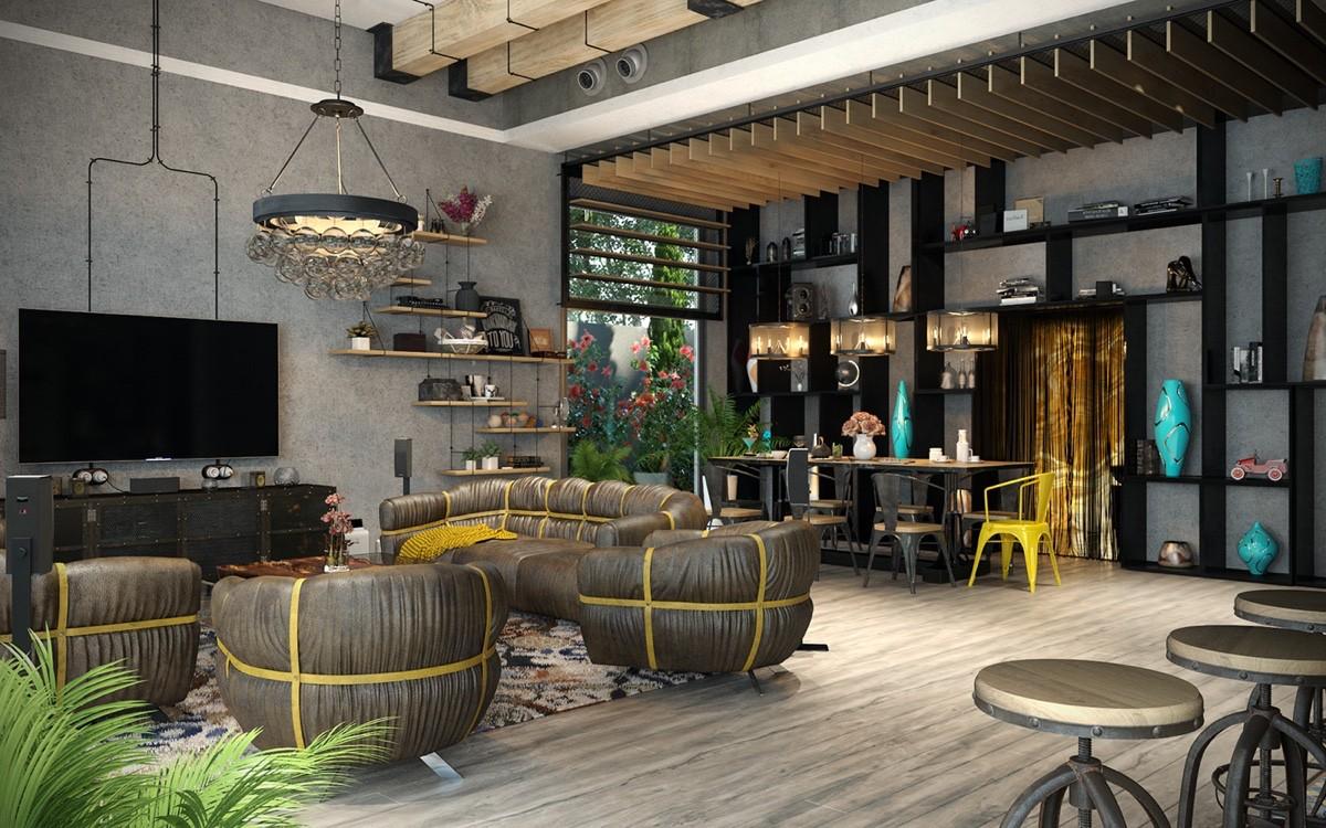 Join the industrial loft revolution for Case loft