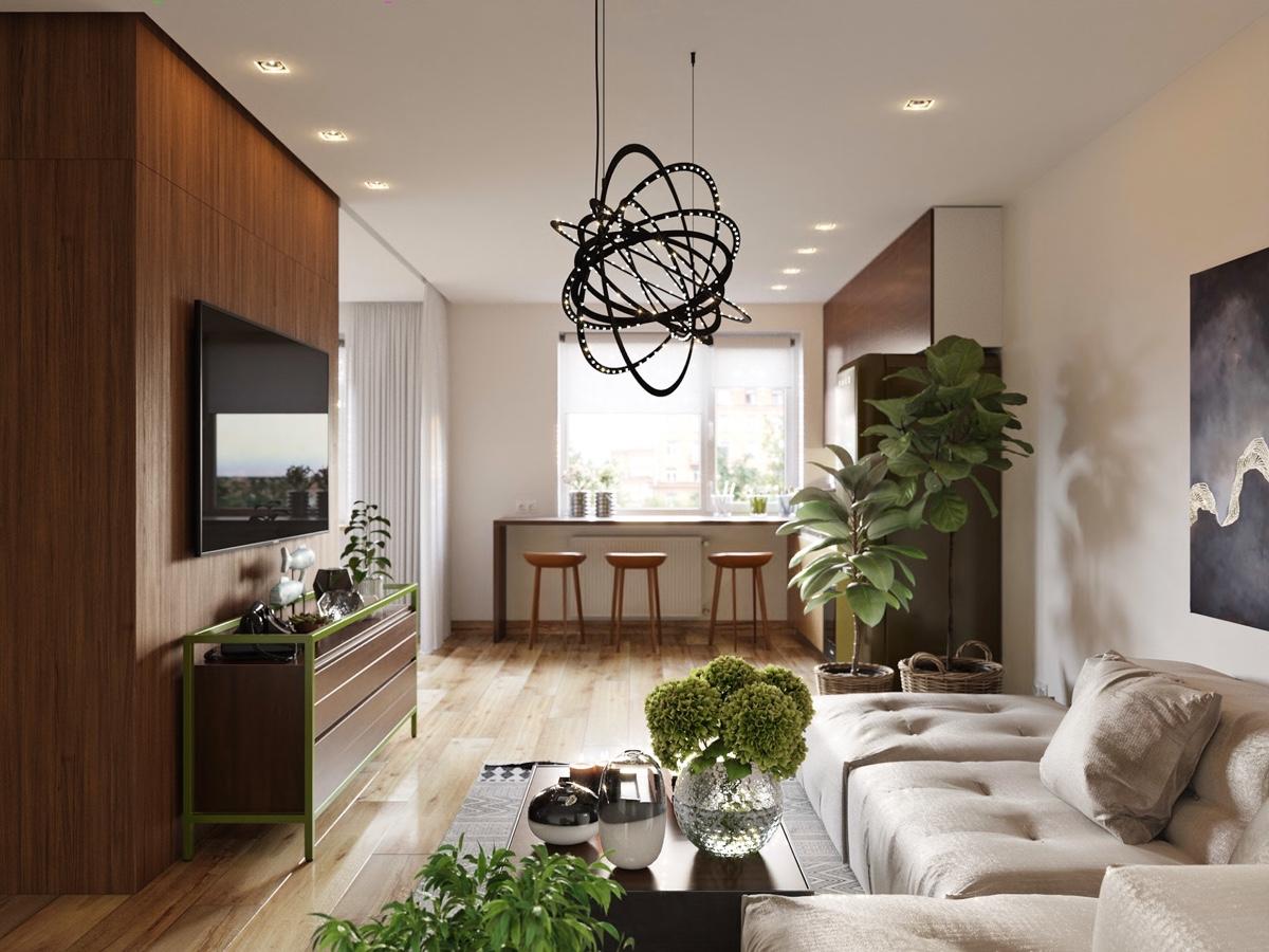 HOME DESIGNING 5 Beautiful Studio Apartments