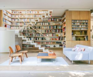 home design book.  50 Creative Ways To Incorporate Book Storage In Around Stairs Living Rooms That Sport A Collection