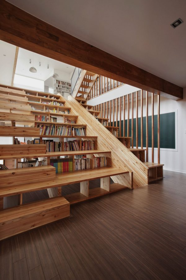 50 Creative Ways To Incorporate Book Storage In Around Stairs