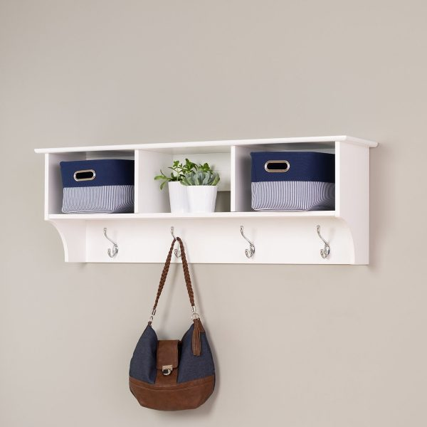 small deep closet ideas - 40 Decorative Wall Hooks To Hang Your Things In Style