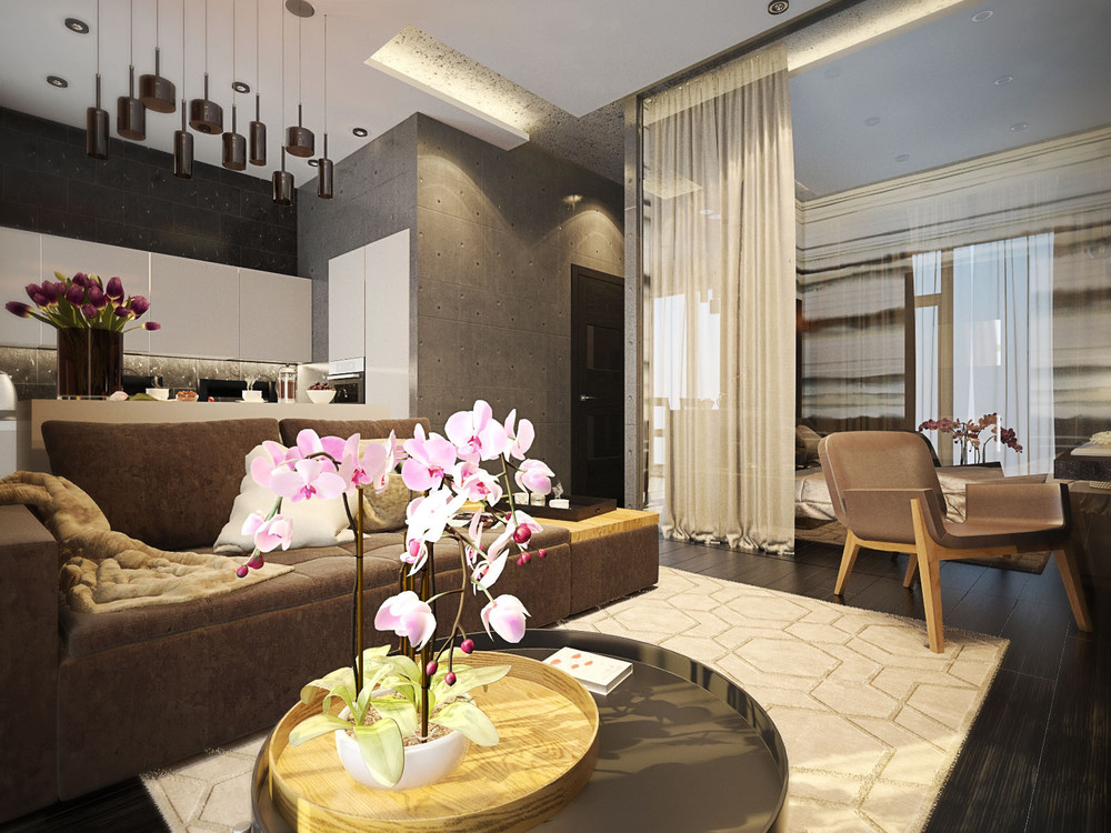 One room apartment full view 4 fabulously stylish studio apartments