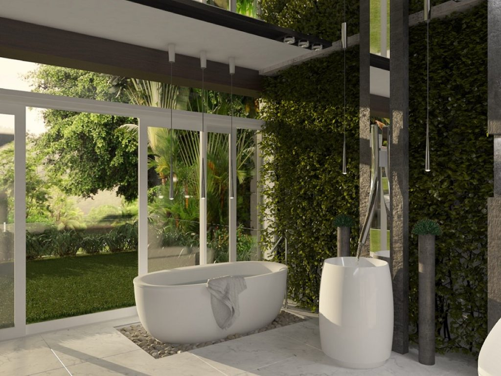 garden bathroom ideas beautifully unique bathroom designs 11854