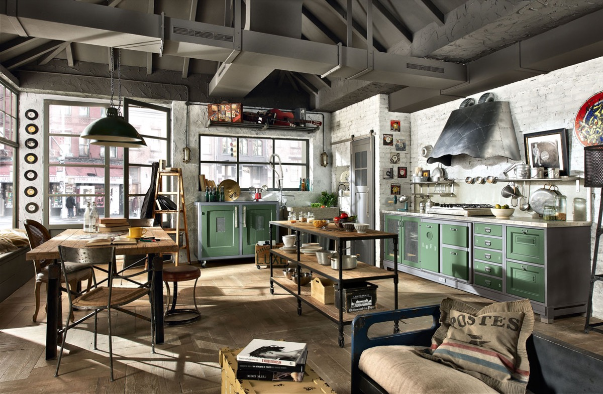 industrial kitchens design 32 industrial style kitchens that will make you fall in 1849