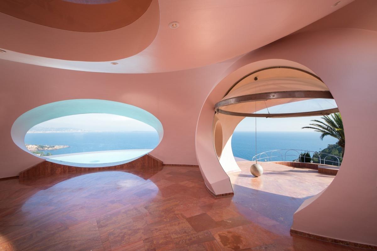 Take A Tour Of Pierre Cardin S 300 Million Pound Bubble Mansion