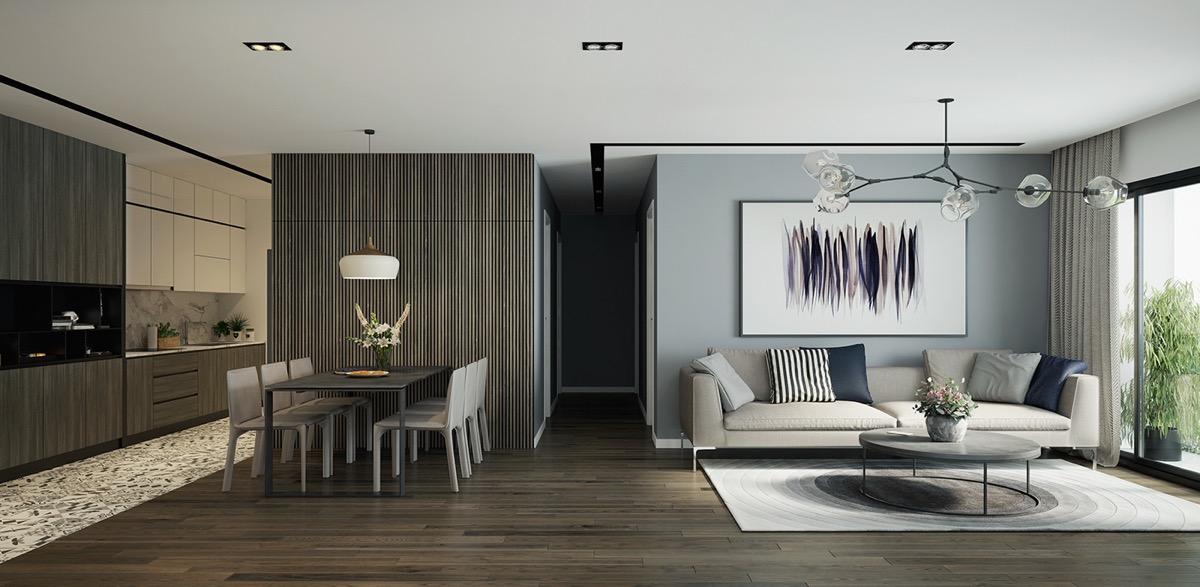 Open Plan Interior Design Inspiration
