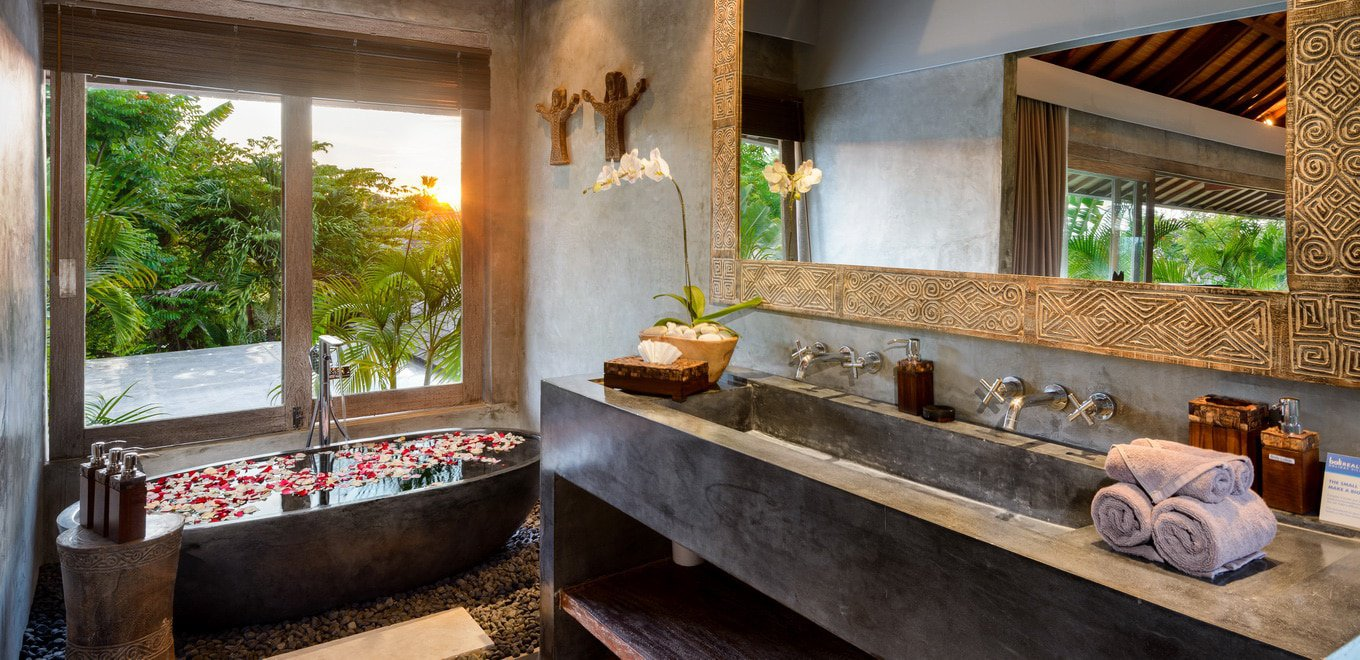 HOME DESIGNING: Gorgeous Tropical Villas In Bali ...
