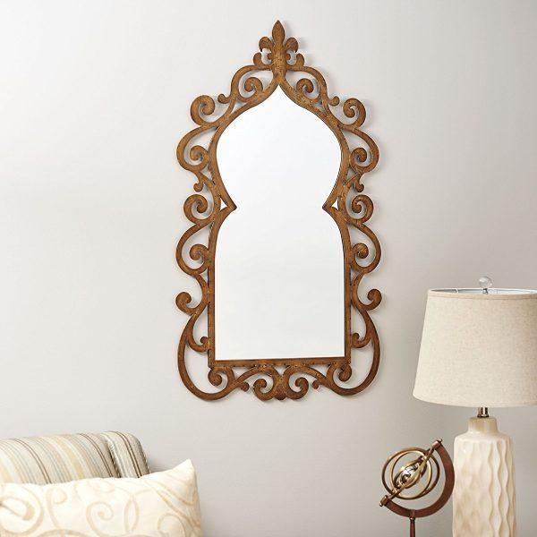 It Fleur De Lis Style Wall Mirror