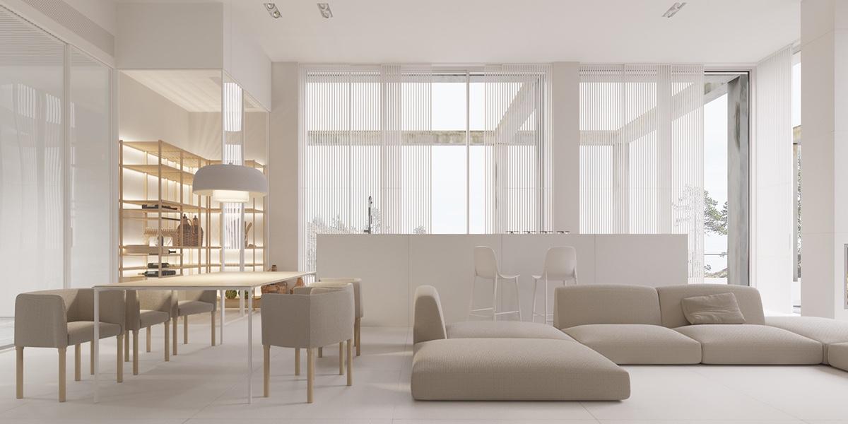 A Mesmerizingly Minimalist 4 Bedroom Luxury House By Igor