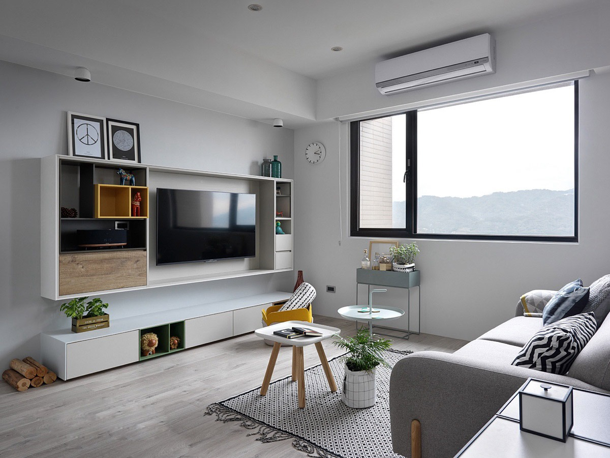1 the living room is a perfect example of how scandinavian style apartments