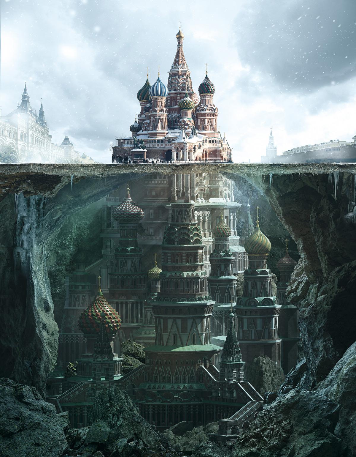 Fantastic Reimagination Of Iconic Russian Architectural