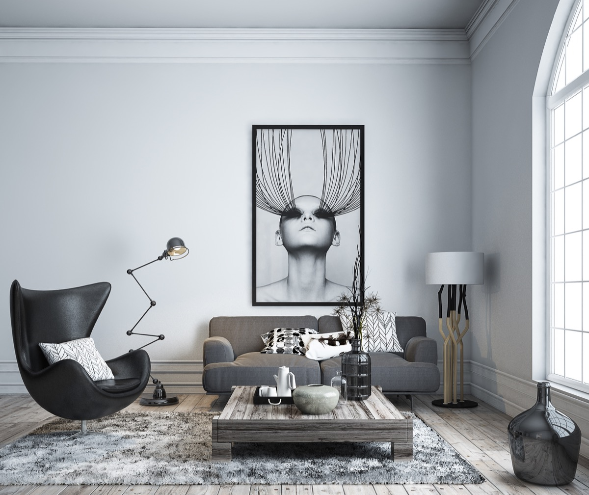 Black Living Room Furniture: 30 Black & White Living Rooms That Work Their Monochrome Magic