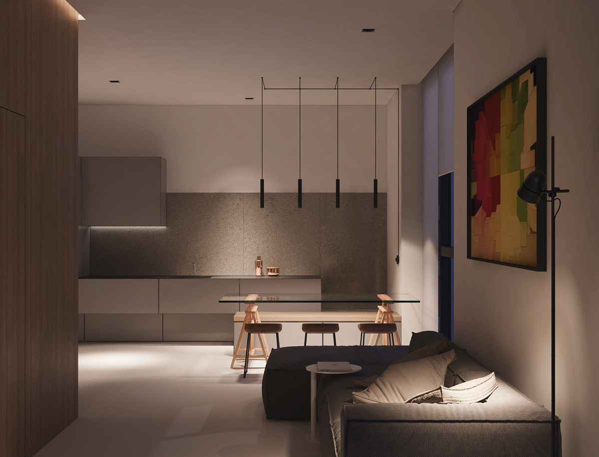 Small Space Luxury Three Modern Apartments Under 40 Square Metres That Ooze Class