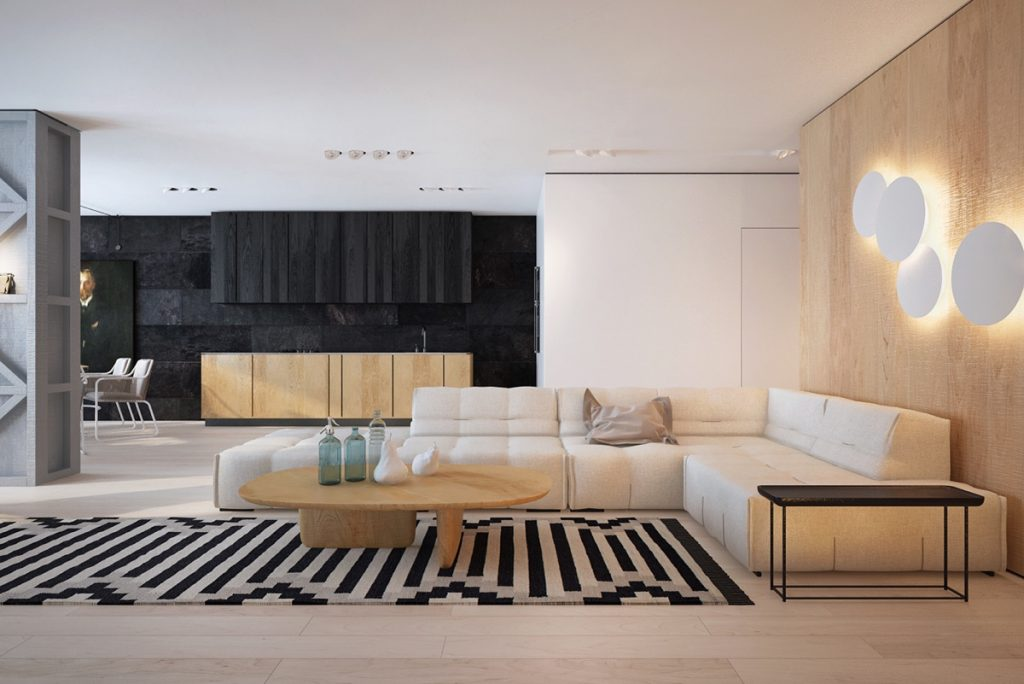 Black White And Wood Two Masterclass Homes Of Contemporary Style