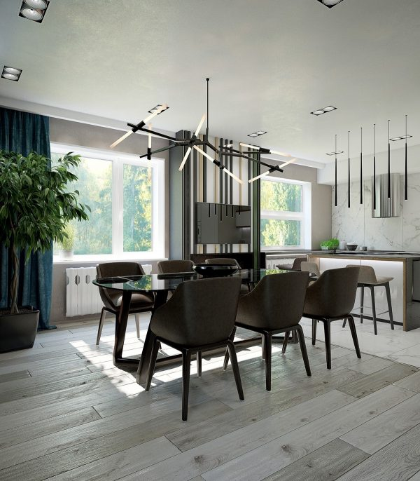 Unique Chandeliers Dining Room: Dining Room Pendant Lights: 40 Beautiful Lighting Fixtures