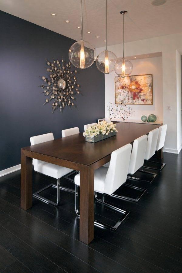 30 Ways To Create A Trendy Industrial Dining Room: Dining Room Pendant Lights: 40 Beautiful Lighting Fixtures