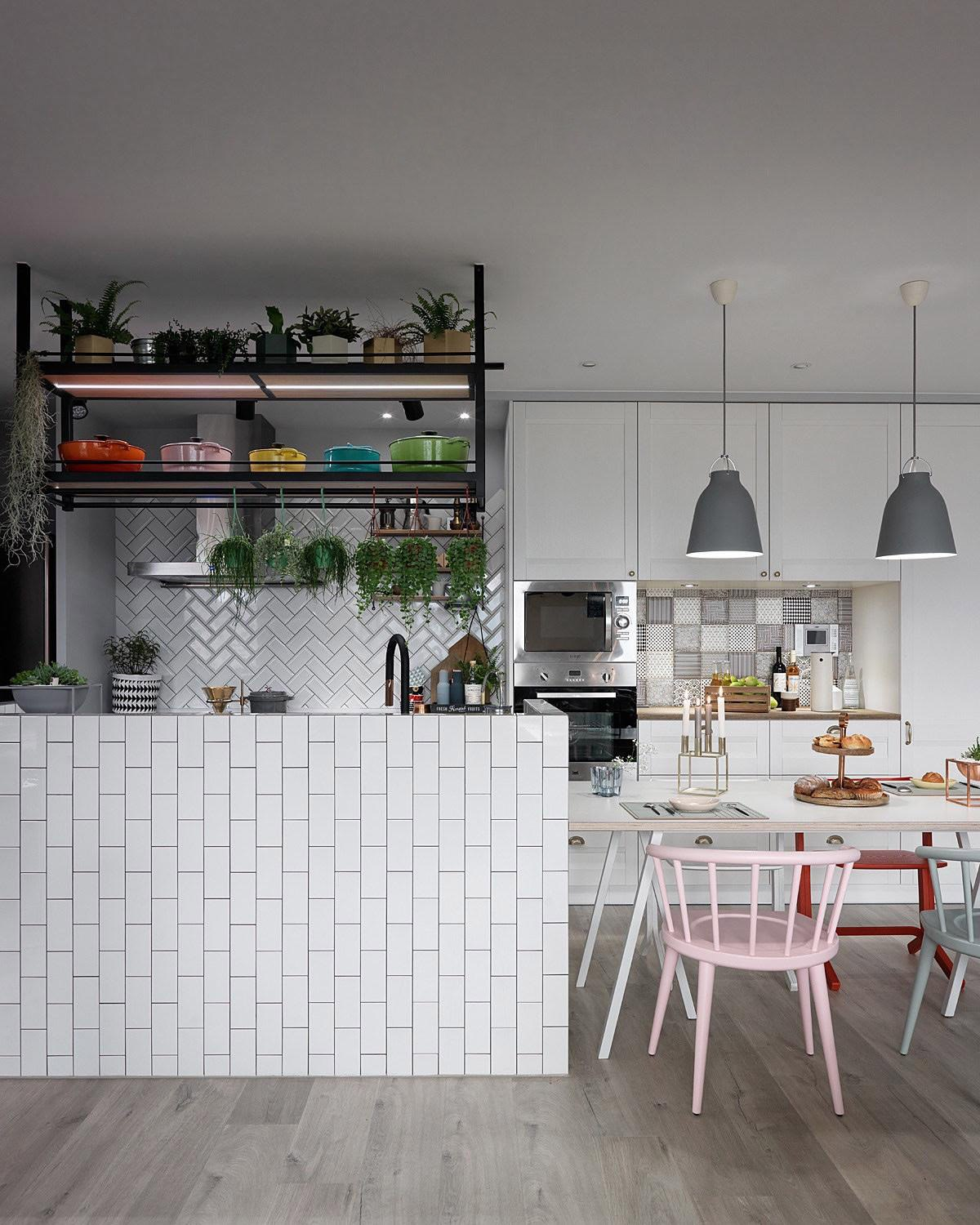 Garden Style Apartment: A Scandinavian Style Apartment That Exudes Chic Comfort