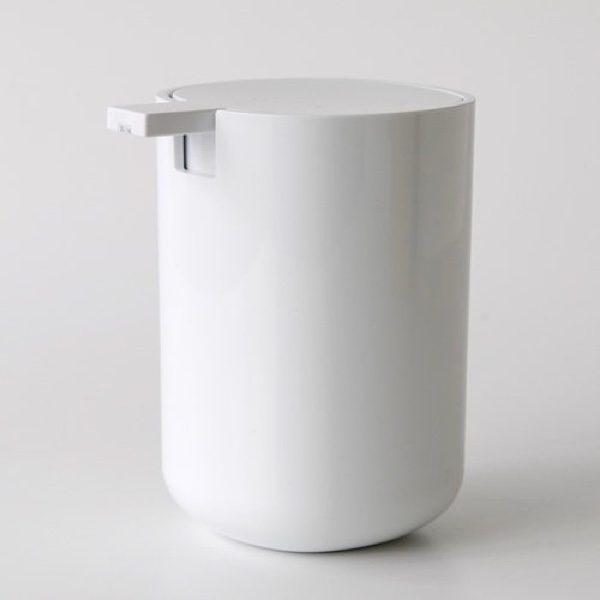 It White Minimalist Liquid Soap Dispenser