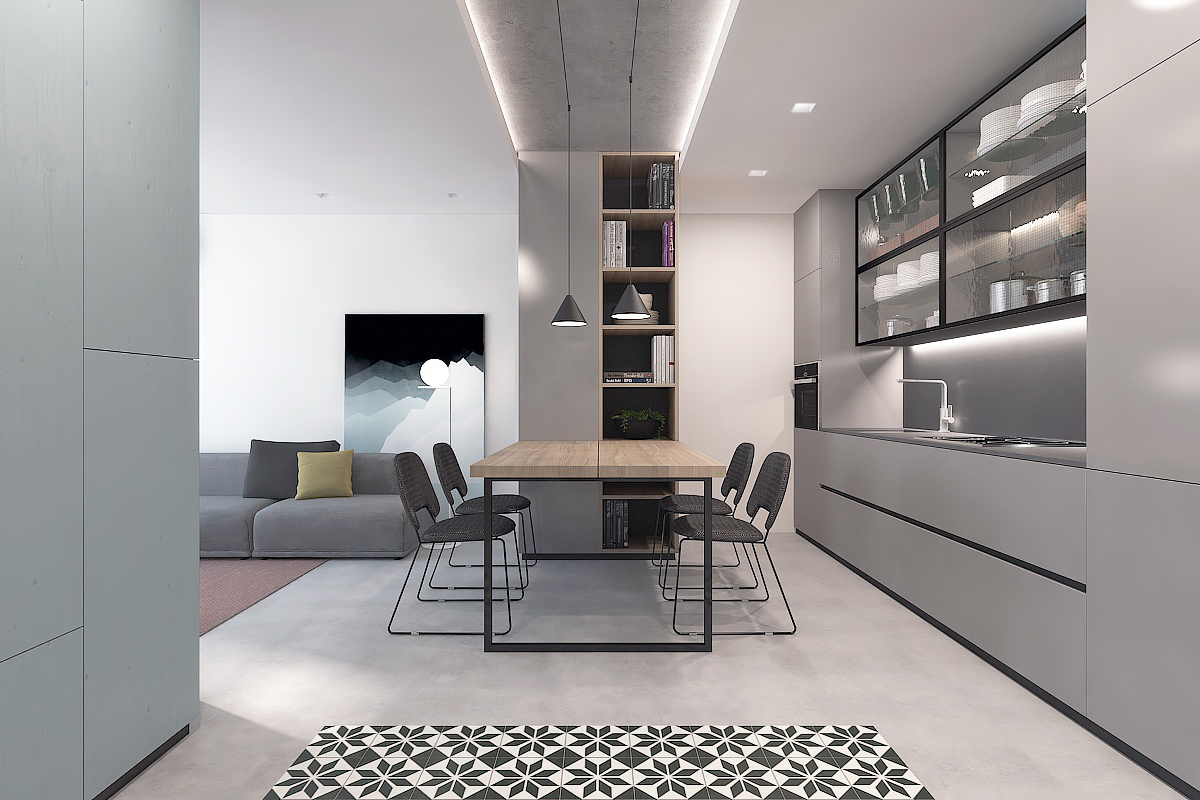 30 Ways To Create A Trendy Industrial Dining Room: 50 Strikingly Modern Dining Rooms That Inspire You To
