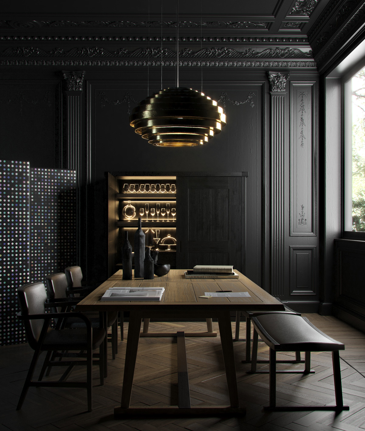 Dramatic Dining Room Design: 50 Strikingly Modern Dining Rooms That Inspire You To