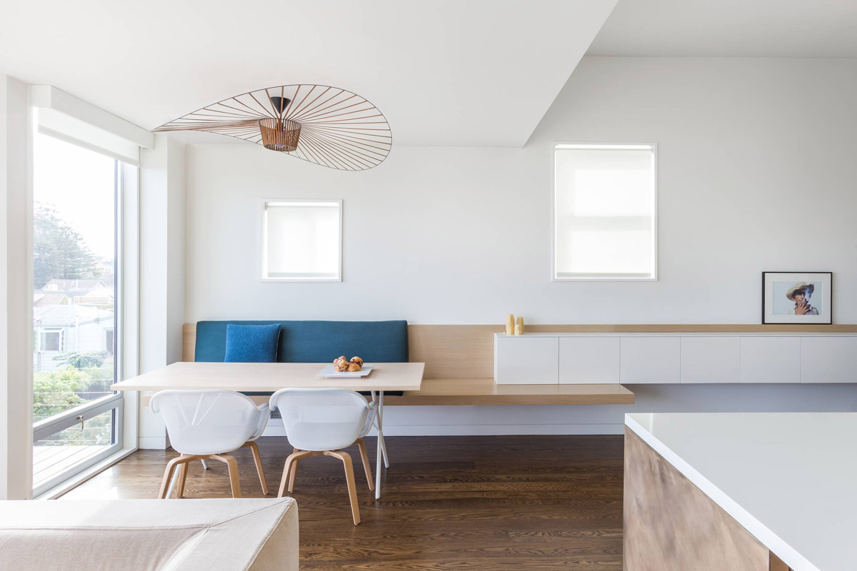 A Feature Light Can Make Ceilings More Interesting. This Wooden Fixture  Folds Over Like A Floppy Hat, Matching Tonally With Wooden Flooring And A  ...