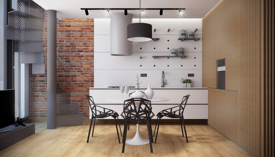 Bring Out Your Modern Side With This Stylish Contemporary Dining Room Set The Table Is Perfect For Any Family To Gather Around And Enjoy Dinner