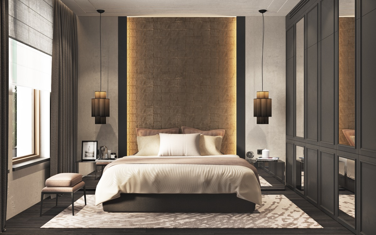 40 beautiful bedrooms that we are in awe of - Ultra contemporary bedroom furniture ...