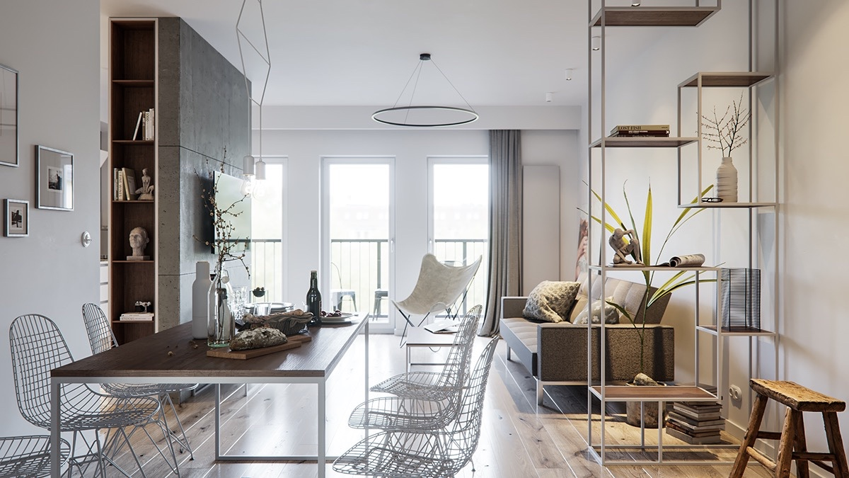 A Pair Of Stylish Apartments That Put Their Extra Rooms To ...