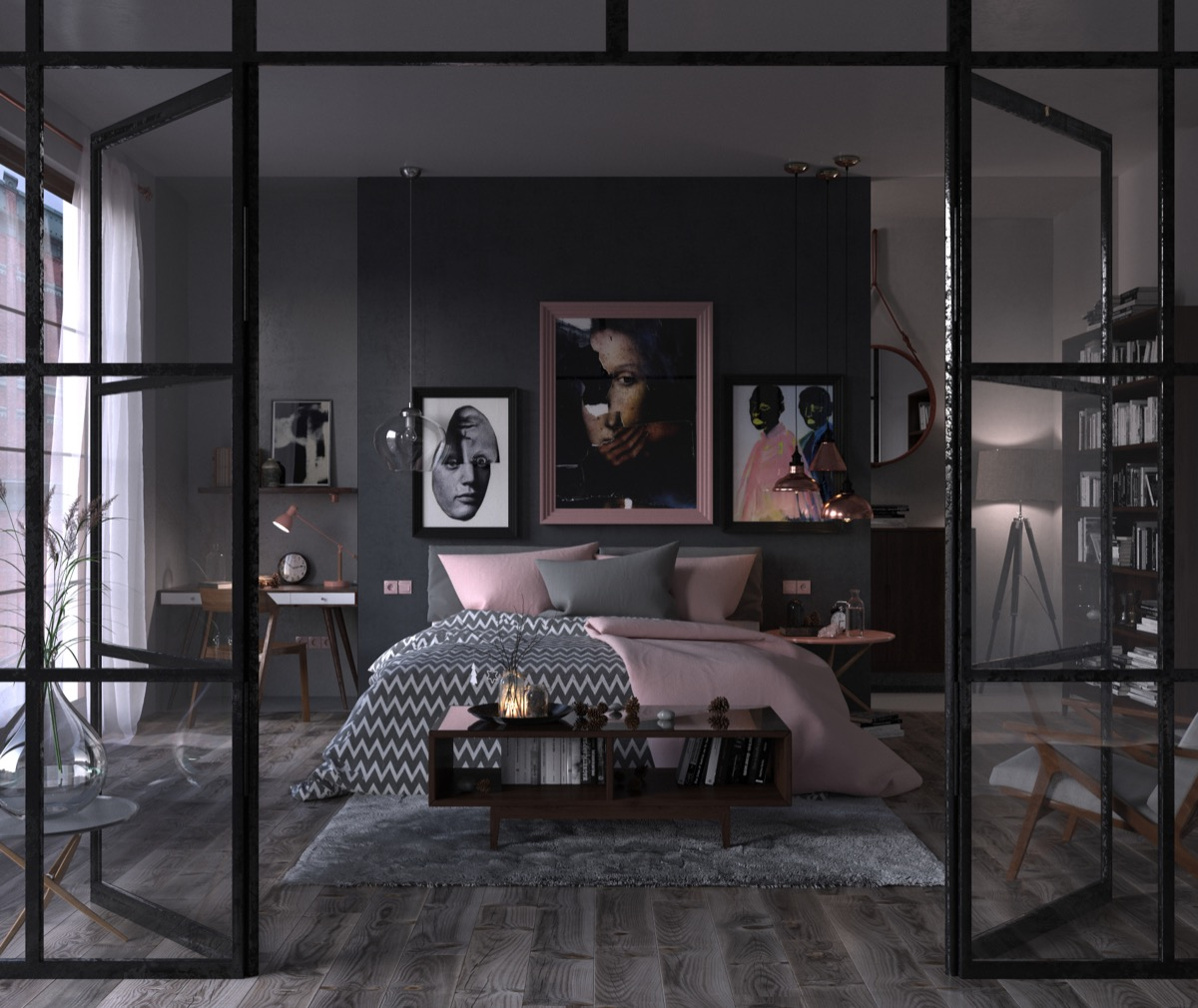 Dark Gray Bedrooms: 40 Beautiful Bedrooms That We Are In Awe Of