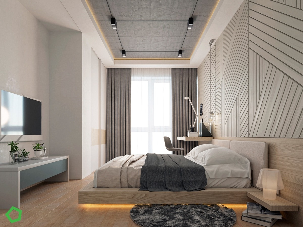 HOME DESIGNING: Relaxing Color Schemes In 3 Efficient