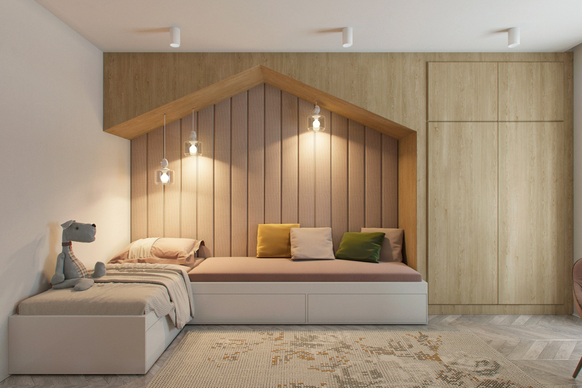 3 Modern Apartments With Chic Rooms For The Kids