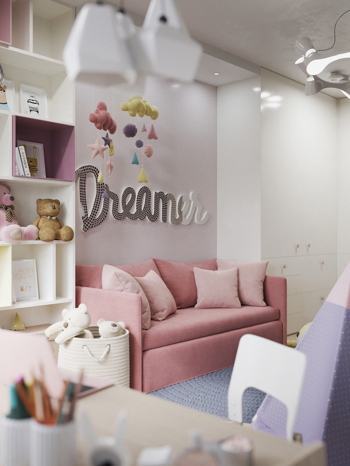 Teenage Rooms: 3 Modern Apartments With Chic Rooms For The Kids