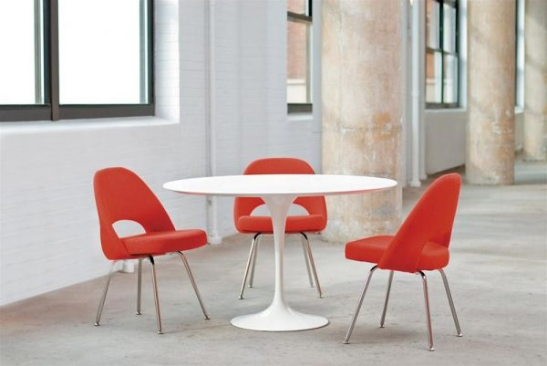 It Saarinen Style Upholstered Dining Chair