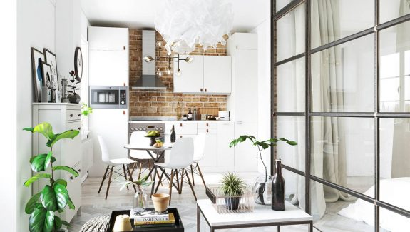 Studio apartments in three modern styles