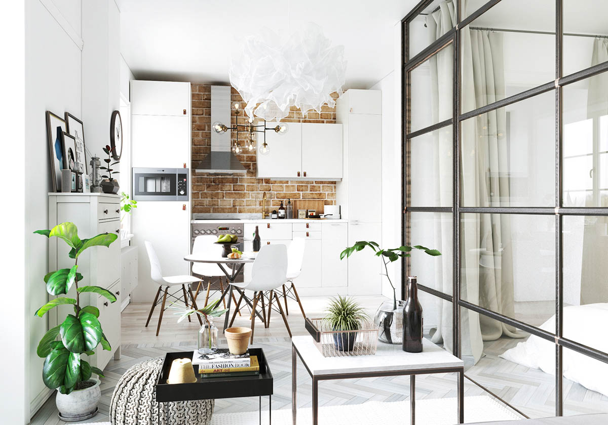 Home designing studio apartments in three modern styles contemporary designers furniture da Scandi decor inspiration