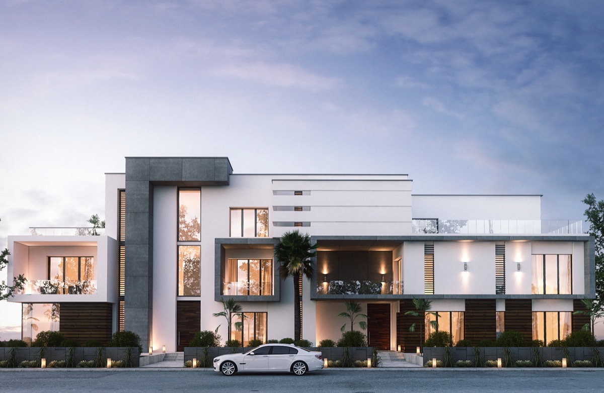 Contemporary Front Elevation Designs : Home designing stunning modern exterior designs