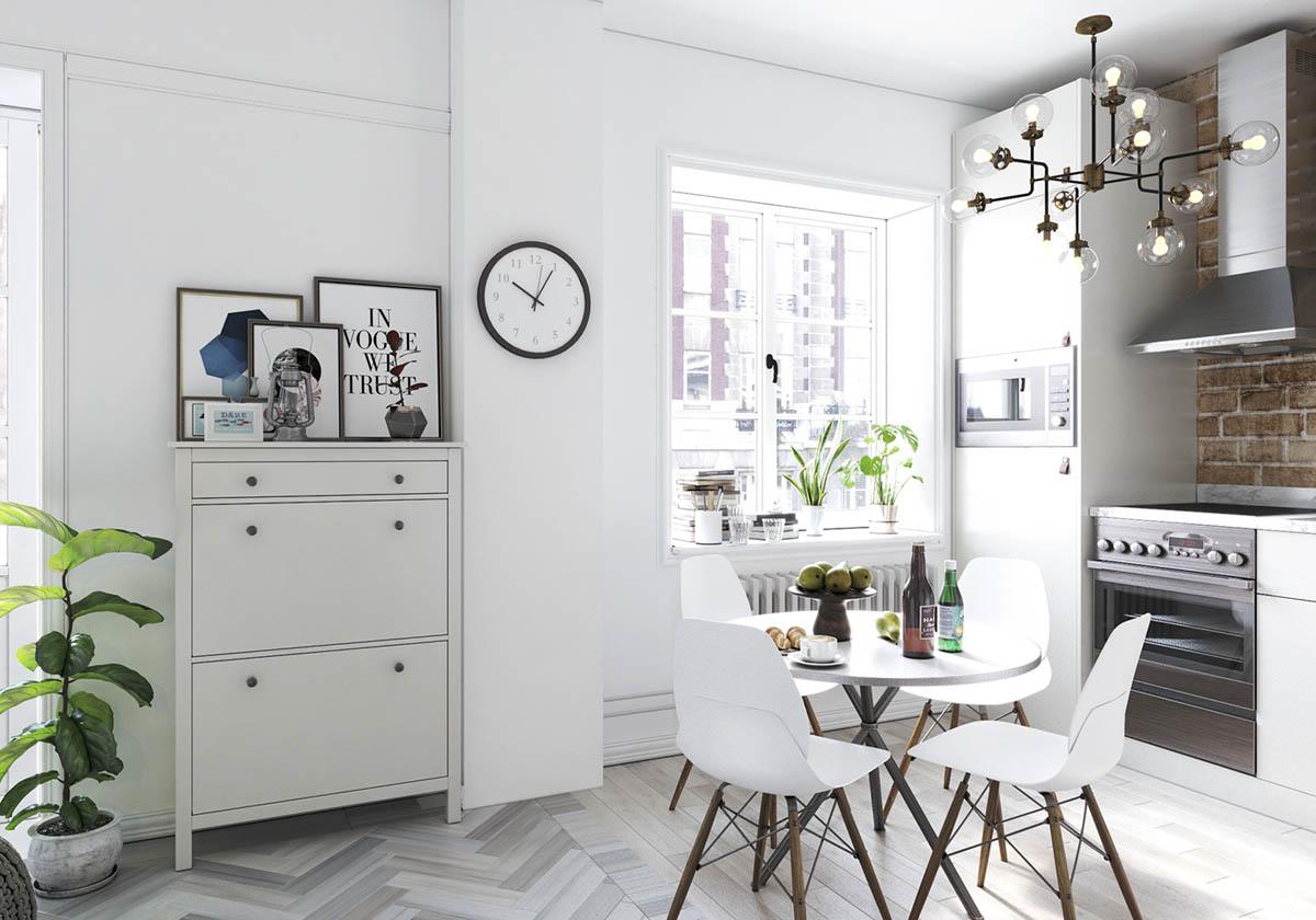 Home Designing Studio Apartments In Three Modern Styles Contemporary Designers Furniture Da